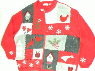 Redbird Rescue-Large Christmas Sweater
