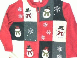 Top Hat Cuties- Large Christmas Sweater
