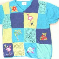 Tropical Paradise- X Small Christmas Sweater