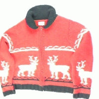 Antlers Up- Small Christmas Sweater