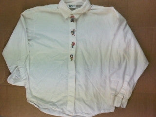 Button Up Holiday- Small Christmas Sweater