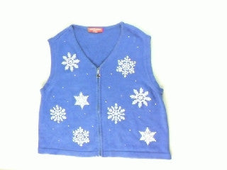 Jeweled Snowflakes- Small Christmas Sweater