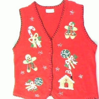 Gingerbread Couple- Small Christmas Sweater