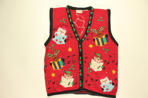 Christmas Choir- X Small Christmas Sweater