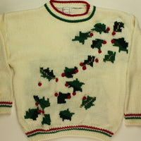 Light Up My Holly- X Small Christmas Sweater