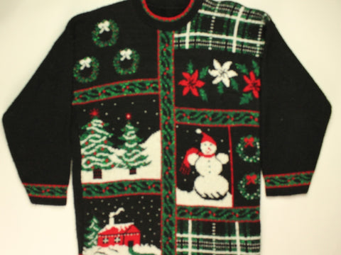 Sparkle In The Season- Small Christmas Sweater