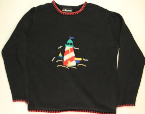 Light My Way Home- Large Christmas Sweater
