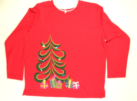 Tinsel Tree- Medium Christmas Sweater