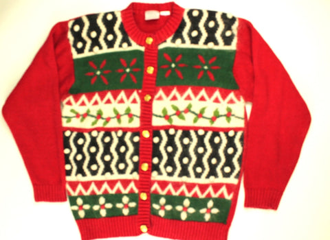 Holly Swag- Small Christmas Sweater