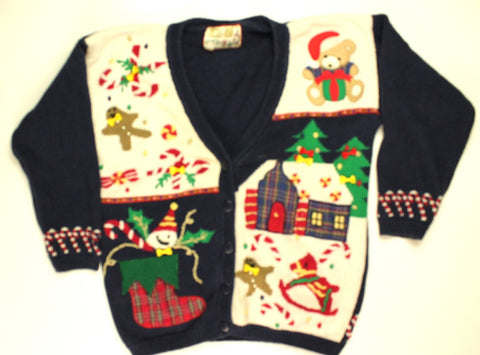 Wonderland Kids- Small Christmas Sweater