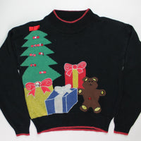 Bows and Diamonds- XX Small Christmas Sweater