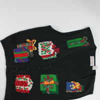 Pretty Presents- Large Christmas Sweater