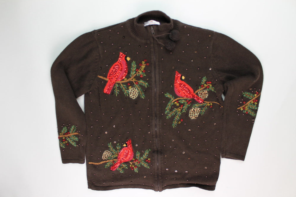 Redbird Beauty-Medium Christmas Sweater