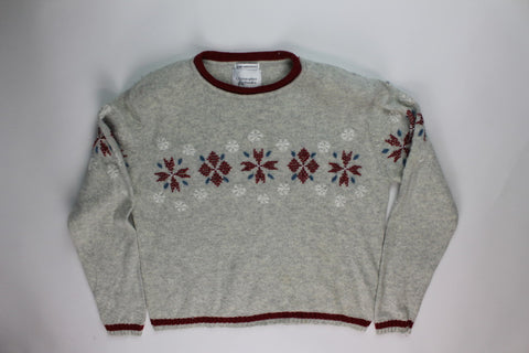 Fancy Flakes- Medium Christmas Sweater