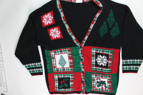 Tinsel In My Sweater- Large Christmas Sweater