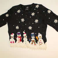 Snow Fancy- Small Christmas Sweater