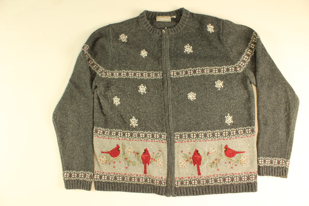 Woodland Winter- Medium Christmas Sweater