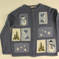 Snowflakes and Mittens- Small Christmas Sweater