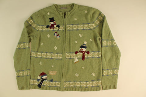 Snowmuch Fun In The Snow- Small Christmas Sweater