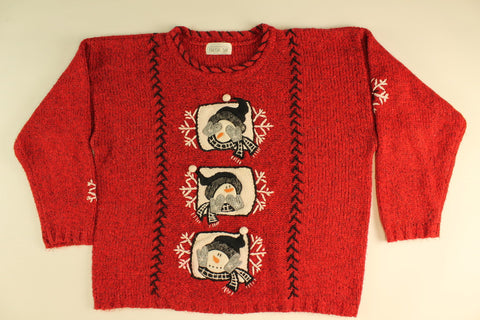 Oh My!- Large Christmas Sweater