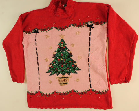 Pretty AS a Picture- Small Christmas Sweater