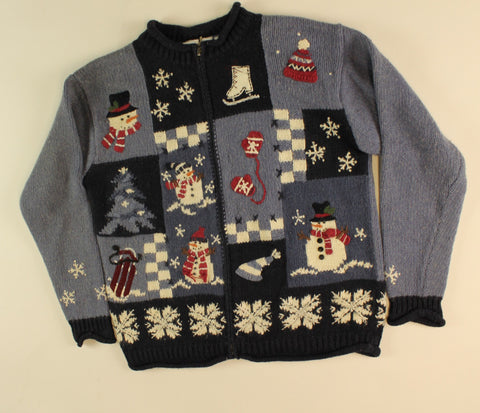 Celebrating Winter- Small Christmas Sweater