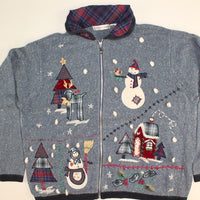 Snowhome Like My Home- Large Christmas Sweater
