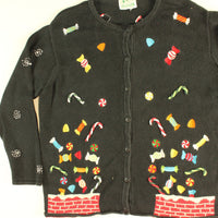 Sweet Chimney Explosion- Large Christmas Sweater
