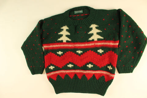 Warm In My Trees- Small Christmas Sweater