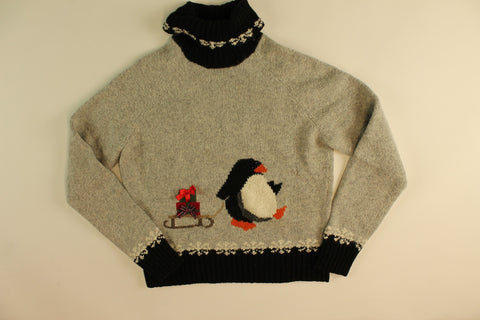 Hauling Presents- XXSmall Christmas Sweater