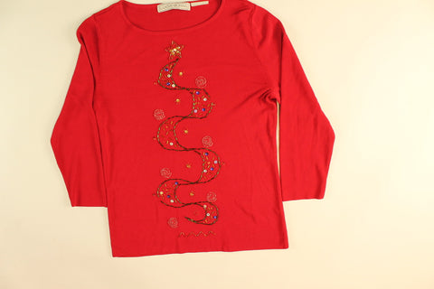 Golden Star Tree and Sparkle- XX Small Christmas Sweater
