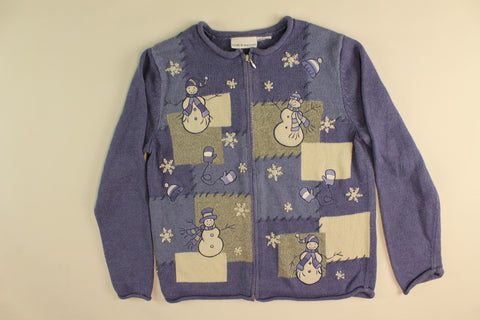 Is it Falling Snowflakes, Mittens or Hats- X Small Christmas Sweater