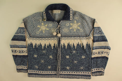 Winter Glisten- Medium Christmas Sweater