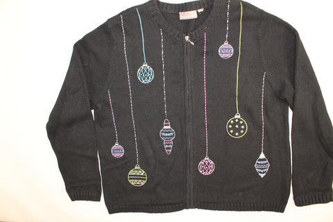 Just Hanging Around- Large Christmas Sweater