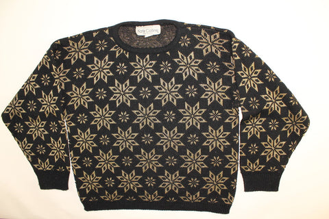 Golden Flake- Small Christmas Sweater