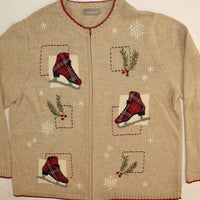 Cutting Ice- Large Christmas Sweater
