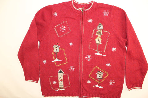 Snowbird Home- Large Christmas Sweater