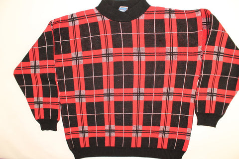 Plaid Party- Large Christmas Sweater