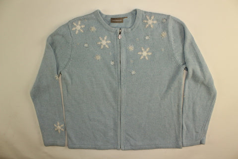 Falling Flakes- Small Christmas Sweater