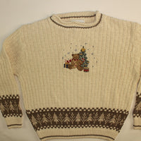 Two Teddies For Me- Medium Christmas Sweater