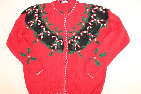 Oh Sweet Wreath of Mine- Medium Christmas Sweater