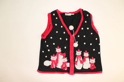 Kitty Couture- XX Small Christmas Sweater