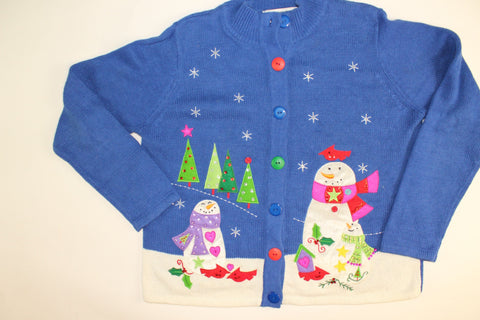 Frosty Good Time- Medium Christmas Sweater