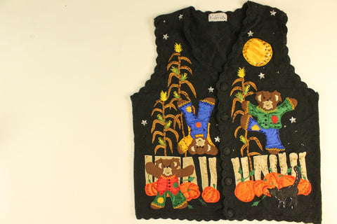 Bearcrow Fun- Small Halloween Sweater