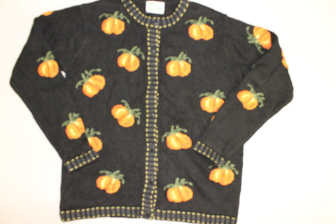 Pumpkin Paradise- Medium  Halloween Sweater