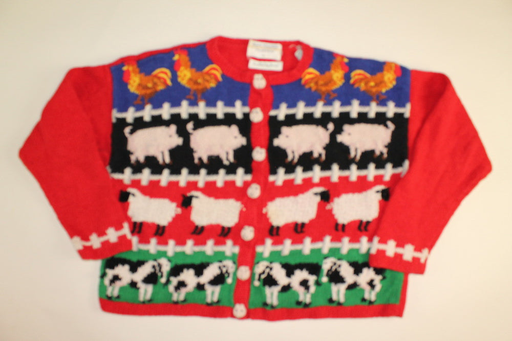 Old McDonald Had A Farm- Large Sweater
