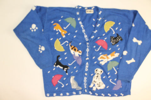 Catch a Falling Pet- Large Sweater