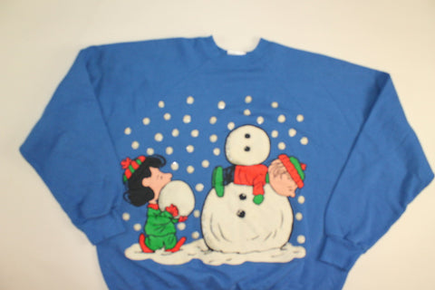 Headless Snowman- X Large christmas sweatshirt