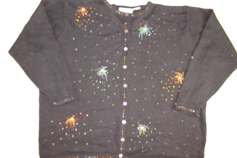 Bursting Celebration- XX Large 4th of July Sweater