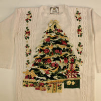 Light My Rose Tree- Small Christmas Sweater